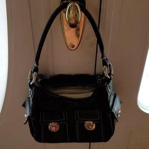 Black leather Marc Jacob's Bag